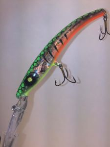 Fire Glass Tiger With Fiber-Eyes Reef Runner Little Ripper 600