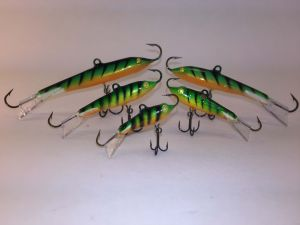 Go Pack Eyelash Glow Tiger Rapala Jigging Rap 6