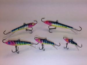 Hotty Eyelash Glow Tiger Rapala Jigging Rap 6