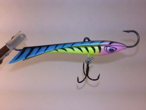 Hotty Eyelash Glow Tiger Rapala Snap Rap 2