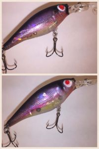 Natural Rainbow Smelt With Fiber-Eyes Berkley Flicker Shad3