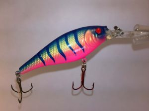 Perfect T With Fiber-Eyes Berkley Flicker Shad